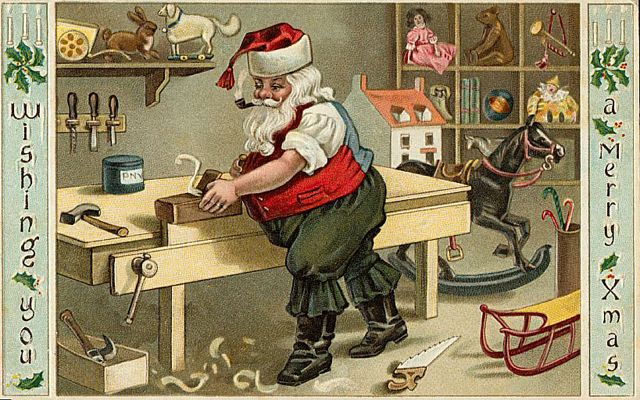 Well it is Christmas time and for all who like Vintage Christmas Postcards here a little collection.