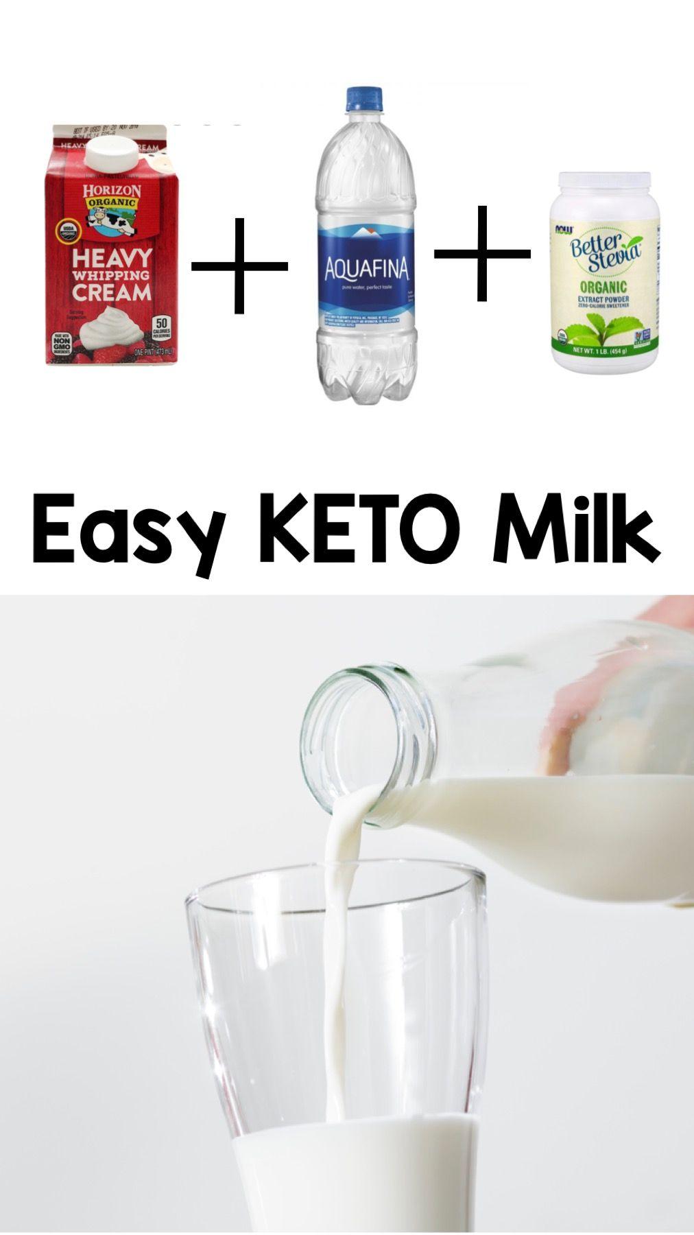 keto diet milk substitute