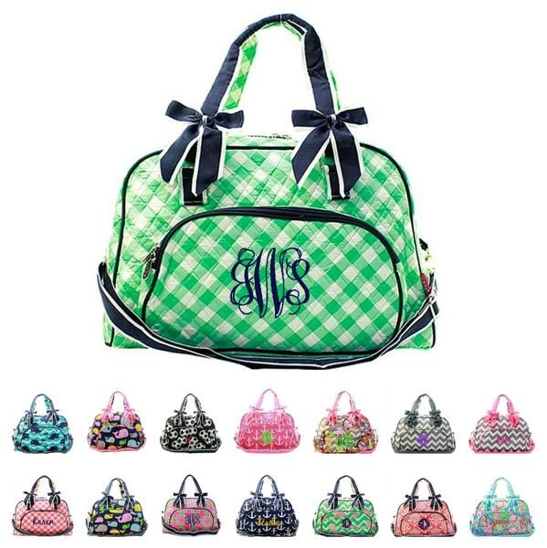 Monogrammed item - custom embroidery with name or monogram included in  price. A cute and · Custom EmbroideryDuffle BagsTote ...