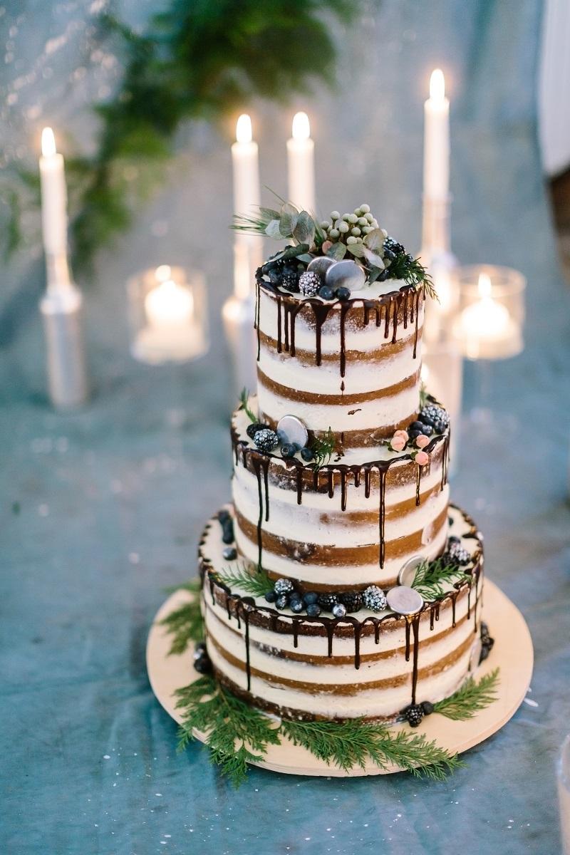 30 wunderschöne Naked Cake-Ideen für die Hochzeit - Hochzeitskiste