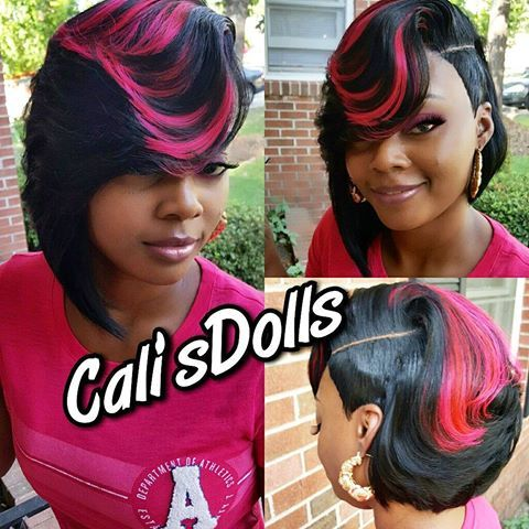 "Cali's Dolls (shannon) on Instagram: ""#Boblife #quickweave #scstylist #nohairout #atlantastylist ����"""