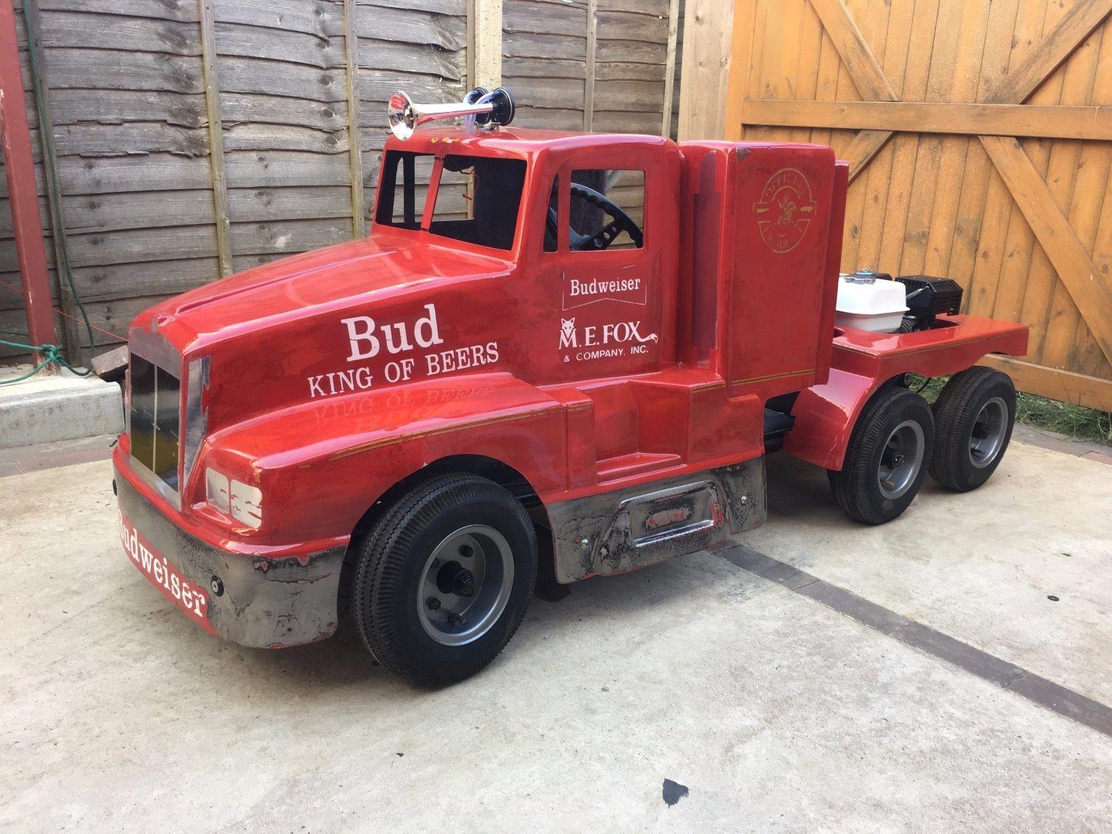 Ebay vintage parade kenworth truck trailer go kart tot rod promotional