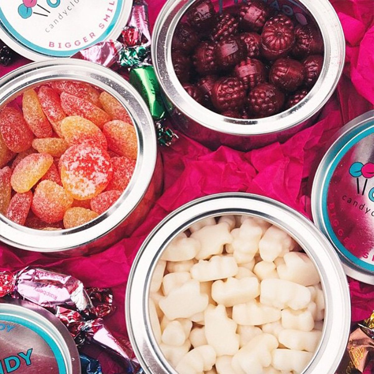 Sweetassortment A Monthly Box Of Your Favorite Candy Delivered To Your Doorstep Food Sour Candy Breakfast Cake