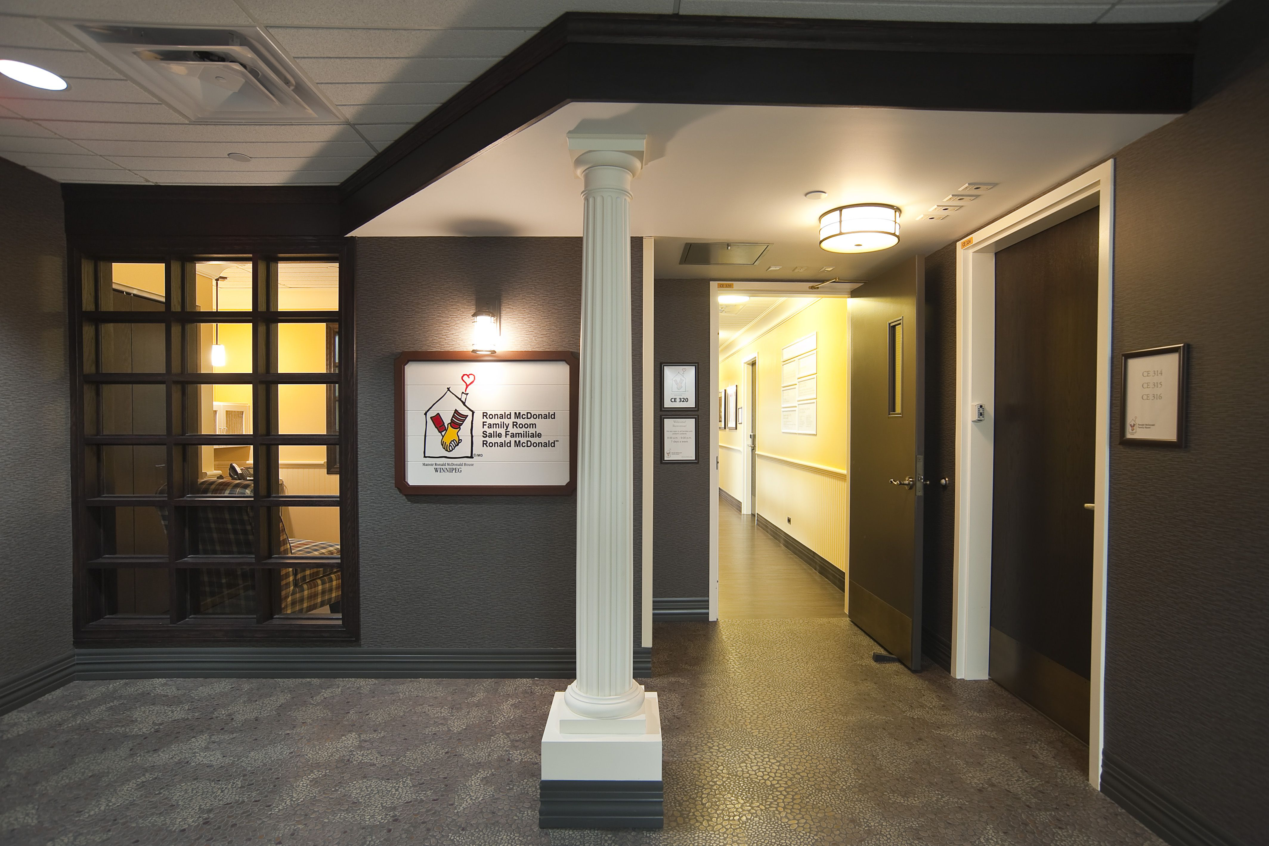 Ronald Mcdonald Family Room Manitoba An Oasis In A Hospital
