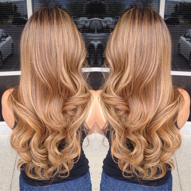 Gorgeous Long Hair Hair Styles Honey Hair Caramel Hair