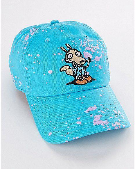 b15cc9cd1d6 Splatter Rocko s Modern Life Dad Hat - Spencer s