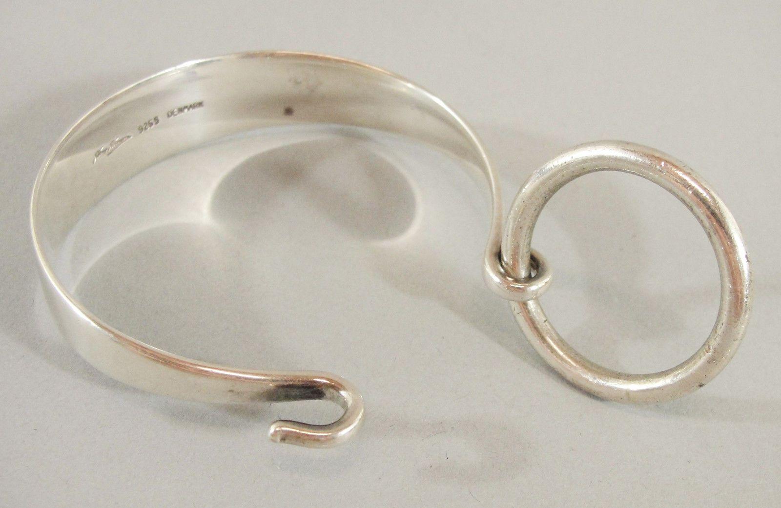 Vintage Art Modern Sterling Silver 925 Designer Hans Hansen Denmark Bracelet   eBay