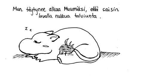 Unettava merkintä - Niin kutsuttu elämä - Annikan sarjisblogi - Vuodatus.net