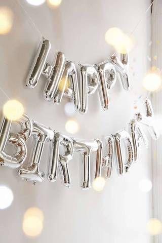 Summer Birthday Party Ideas Happy Birthday Balloons