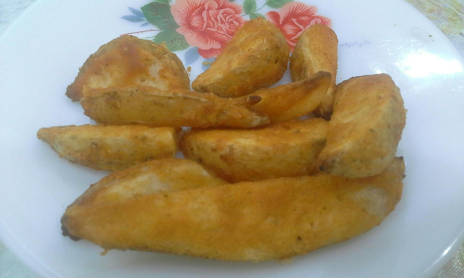 Frozen Potato Wedges Using Airfryer Temperature and