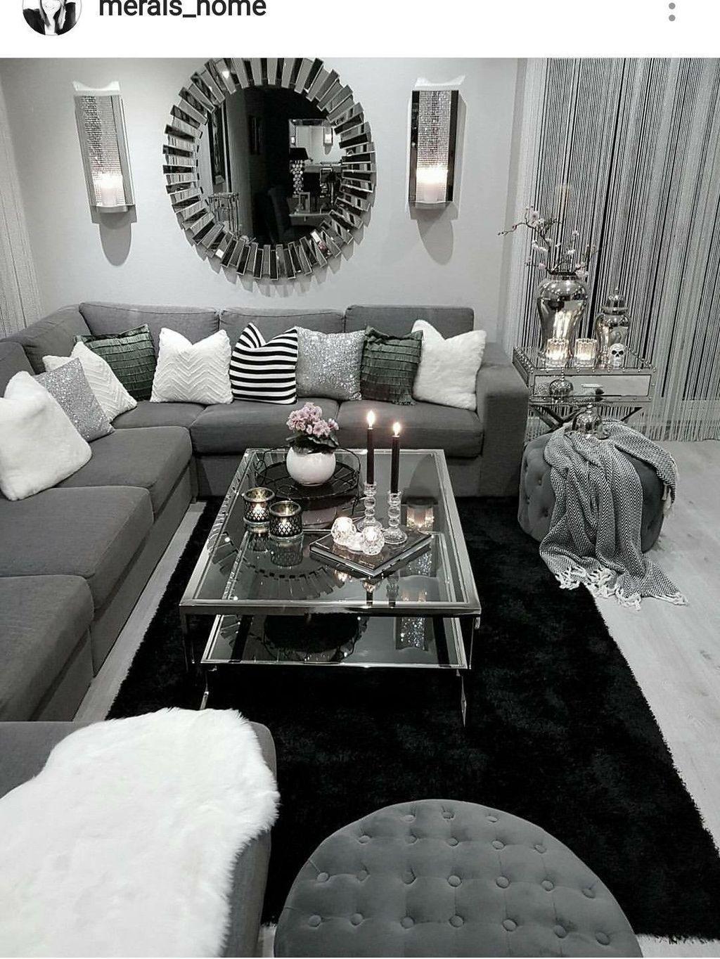35 Cozy Livingroom Ideas In 2020 Silver Living Room Li