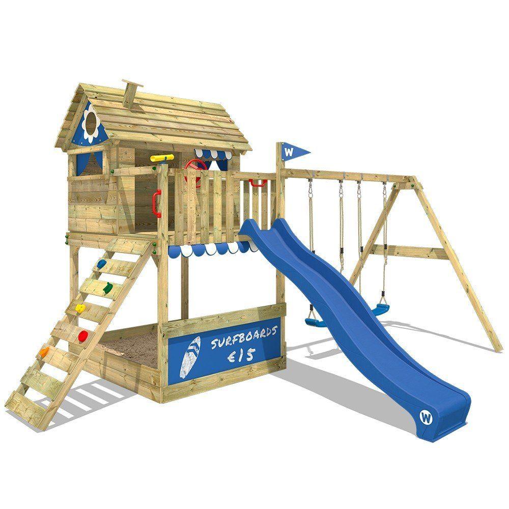 Spielturm Wickey Smart Seaside Spielturm Kinder Baumhaus Wickey Spielturm