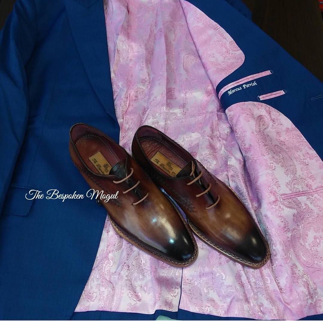 100% hand made suits shirts and shoes. Crafted around your body's specific measurements ensuring your garment fits like a 2nd glove. Schedule your consultation today. BRADY@THEBESPOKENMOGUL.COM  #TheBespokenMogul #HandMade #Suits #Shirts #Shoes #Custom #Blue #Navy #Men #MensWear by bespokengentlemen