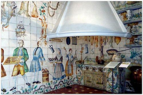 El Tiempo Por Si Mismo Cocina Valenciana De Azulejos Siglo
