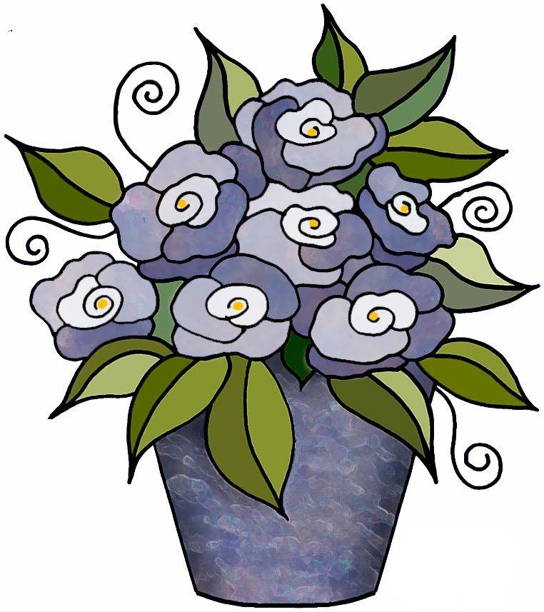Artbyjean clipart flower pot flower blossoms in a flower pot artbyjean clipart flower pot flower blossoms in a flower pot clip art prints for your ccuart Image collections