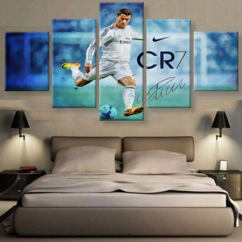 Madrid Ronaldo Wall Art Painting Canvas Poster Home Decor – Size 3