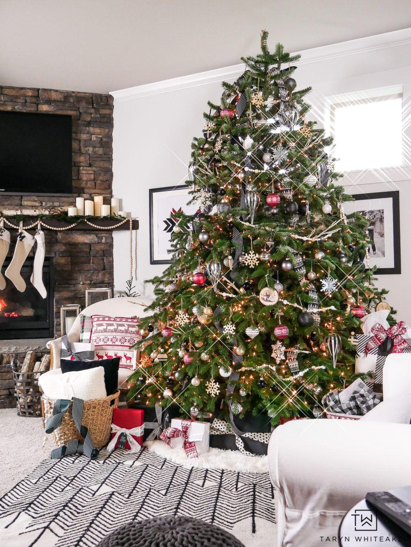 Woodland Chic Christmas Tree