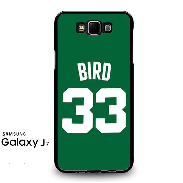 Larry Bird Jersey Green Samsung Galaxy J7 Prime Case
