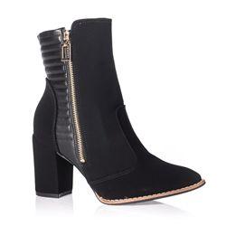 650a23b49487d bota cano curto #boots #bota #canocurto #inverno #shoes #coturno ...