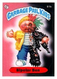 Rejected Garbage Pail Kids Garbage Pail Kids Garbage Pail Kids Cards Kids Series