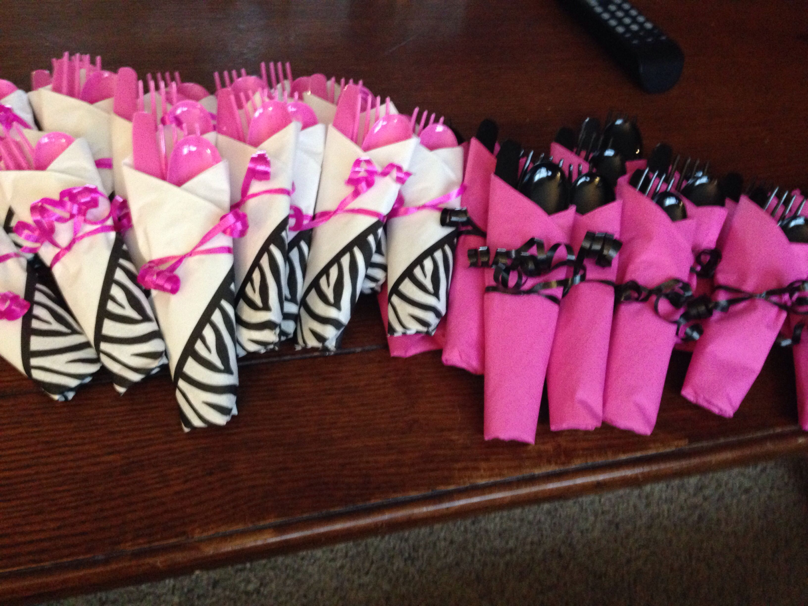pink black and white bridal shower invitations%0A Pink Zebra Baby Shower