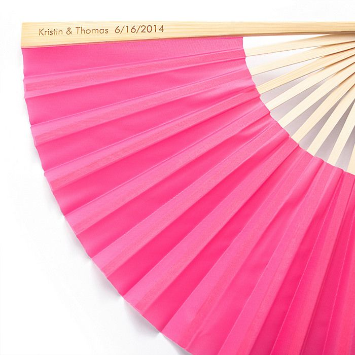 Favor The Knot Wedding Shop Personalised Fans Personalized Wedding Favors