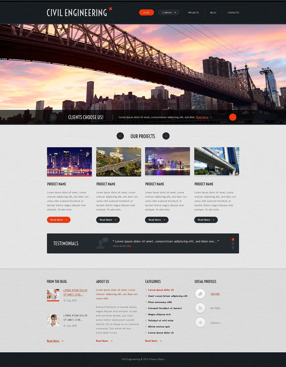 website templates for architectural firms google search design