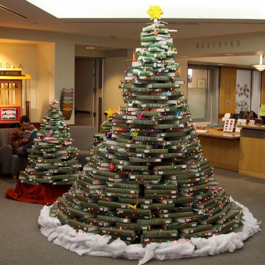 alternative christmas trees decorating ideas suprising national union catalog alternative christmas tree made of green - Alternative Christmas Tree Decorations