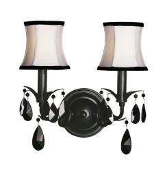 Shop For Woodbridge Lighting Avigneau 2 Light Black Wall Sconce. Get Free  Delivery At