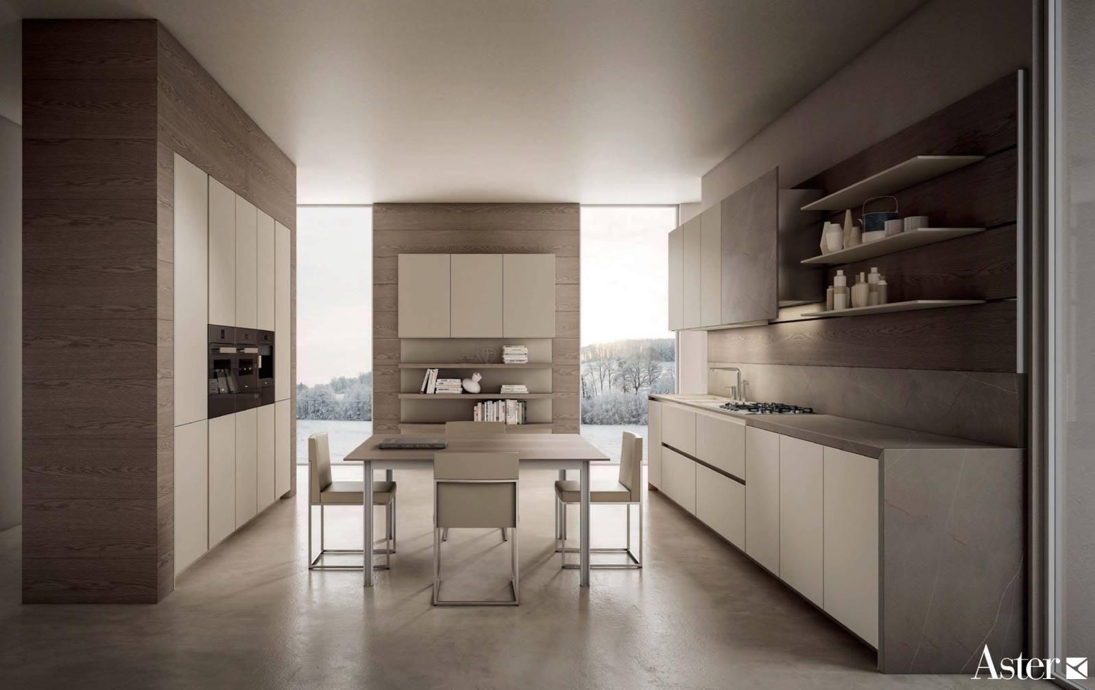 Atelier Modern Kitchen Sleek Kitchen Kitchen Without Handles