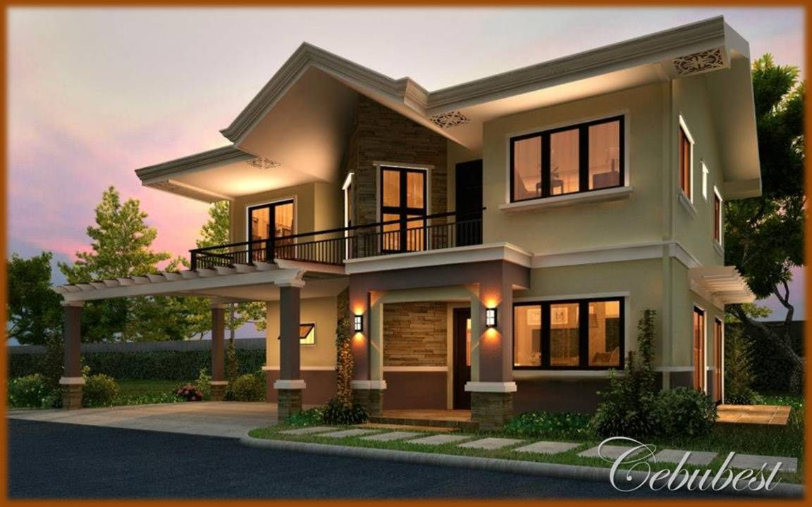 Modern mediterranean homes design talisay house modern for Contemporary mediterranean homes