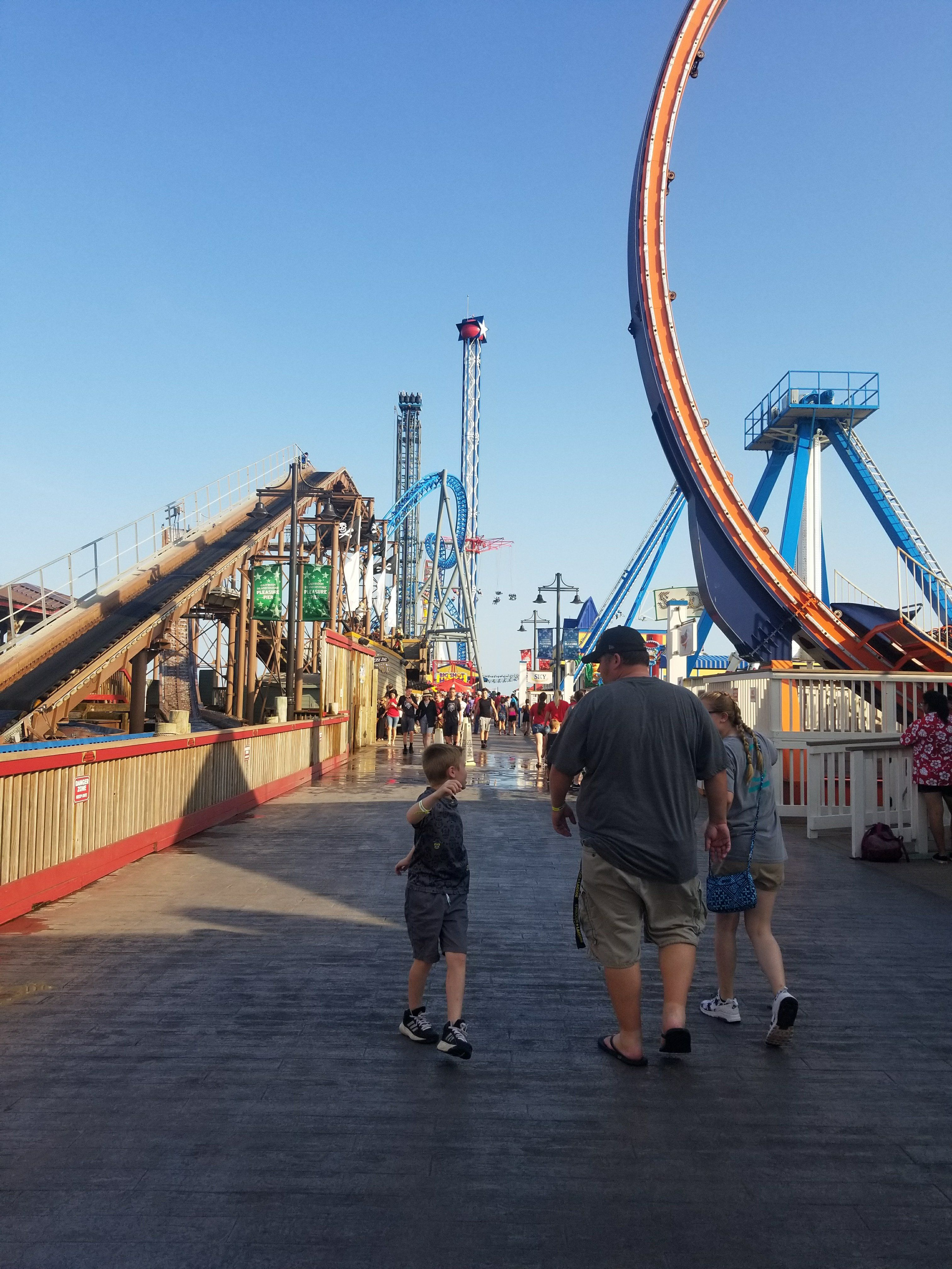 Everything You Need To Know Before You Visit Galveston Island Pleasure Pier With Kids Galveston Galveston Pleasure Pier Texas Beach Vacation