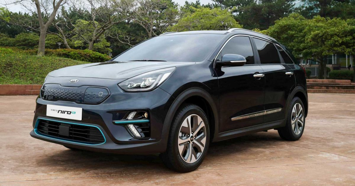 Kia Unveils Production Niro Ev Crossover With 280 Mile Range Kia Suv Hybrid Car