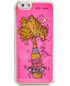 Betsey Johnson Champagne iPhone 6/6s Case - Pink