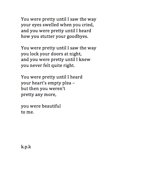Beautiful You Are So Much More Than This Beautiful Poem Depression