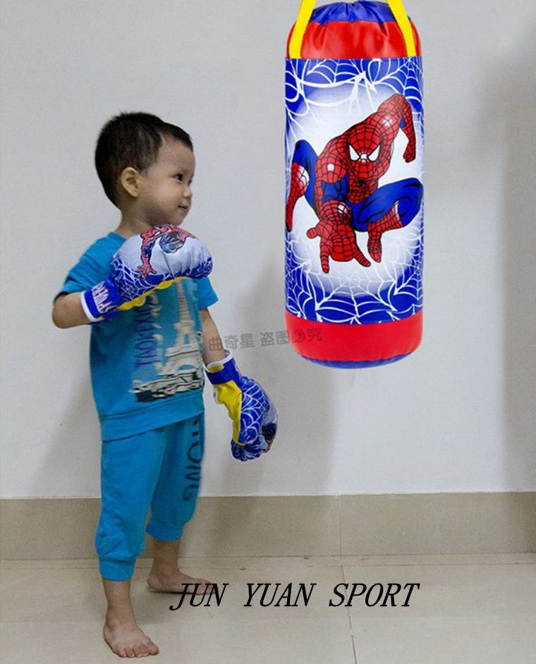 High quality kids children training spider boxing bag
