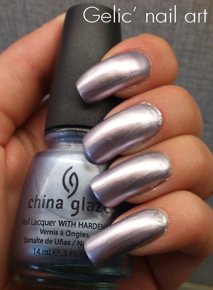 Gelic\' nail art: China Glaze - Sci-Fi, swatch | Nail Supplies ...