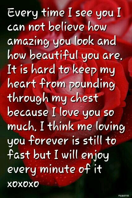 I Love You So Much And I Will Love You That Way Forever Love Quotes For Her Love Quotes Inspirational Words