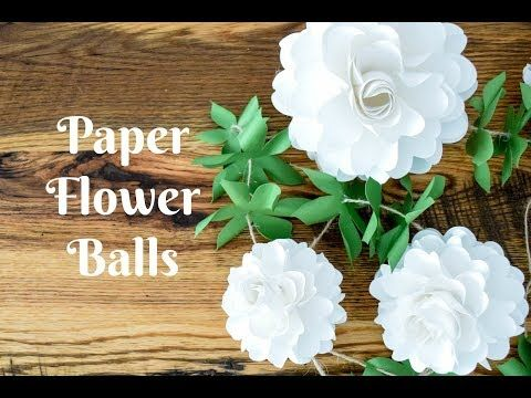 How to make paper flower balls step by step tutorial flower ball how to make paper flower balls step by step tutorial is the perfect mightylinksfo