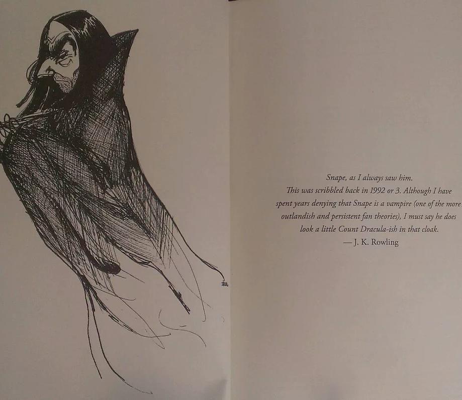 JKR about Severus Snape