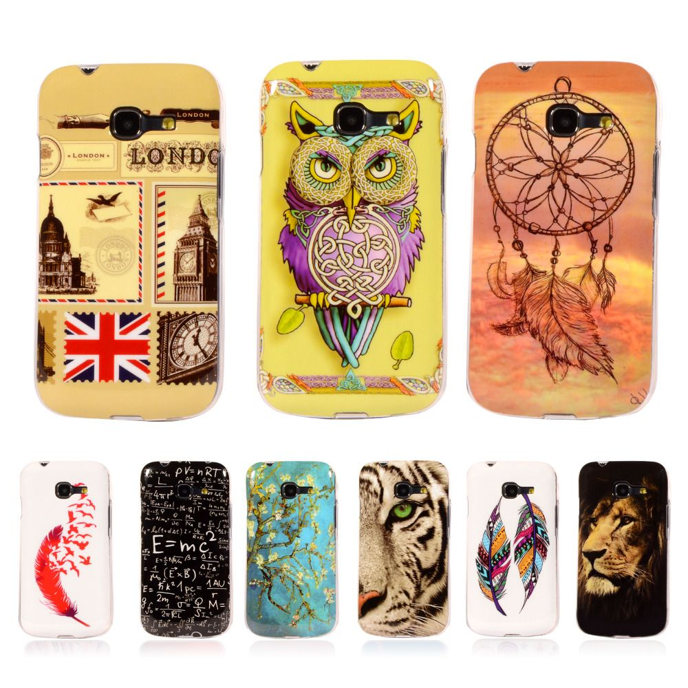 Pattern Rubber Tribe TPU Cover For Samsung Galaxy Star Plus / Pro gt-7262 S7260 S7262 With Gel Case Mobile Phone Protective Case