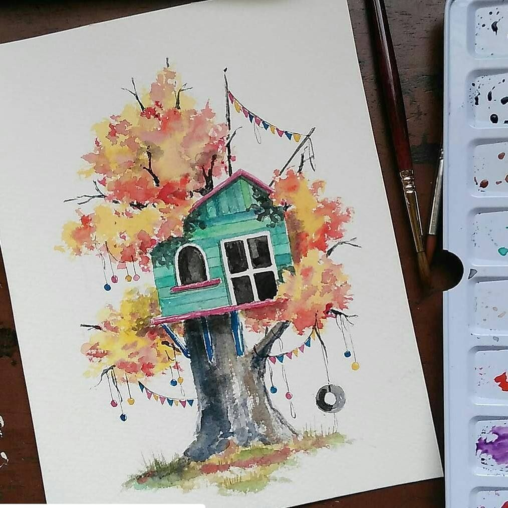 Pinterest Nor Syafiqah Watercolor Art Lessons Watercolor