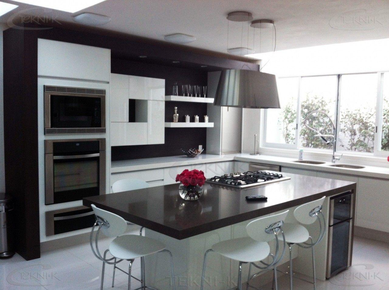 55 Cocinas Elegantes Y Modernas 2019 Cocinas De Lujo Diseno De Cocina Decoracion De Cocina Moderna