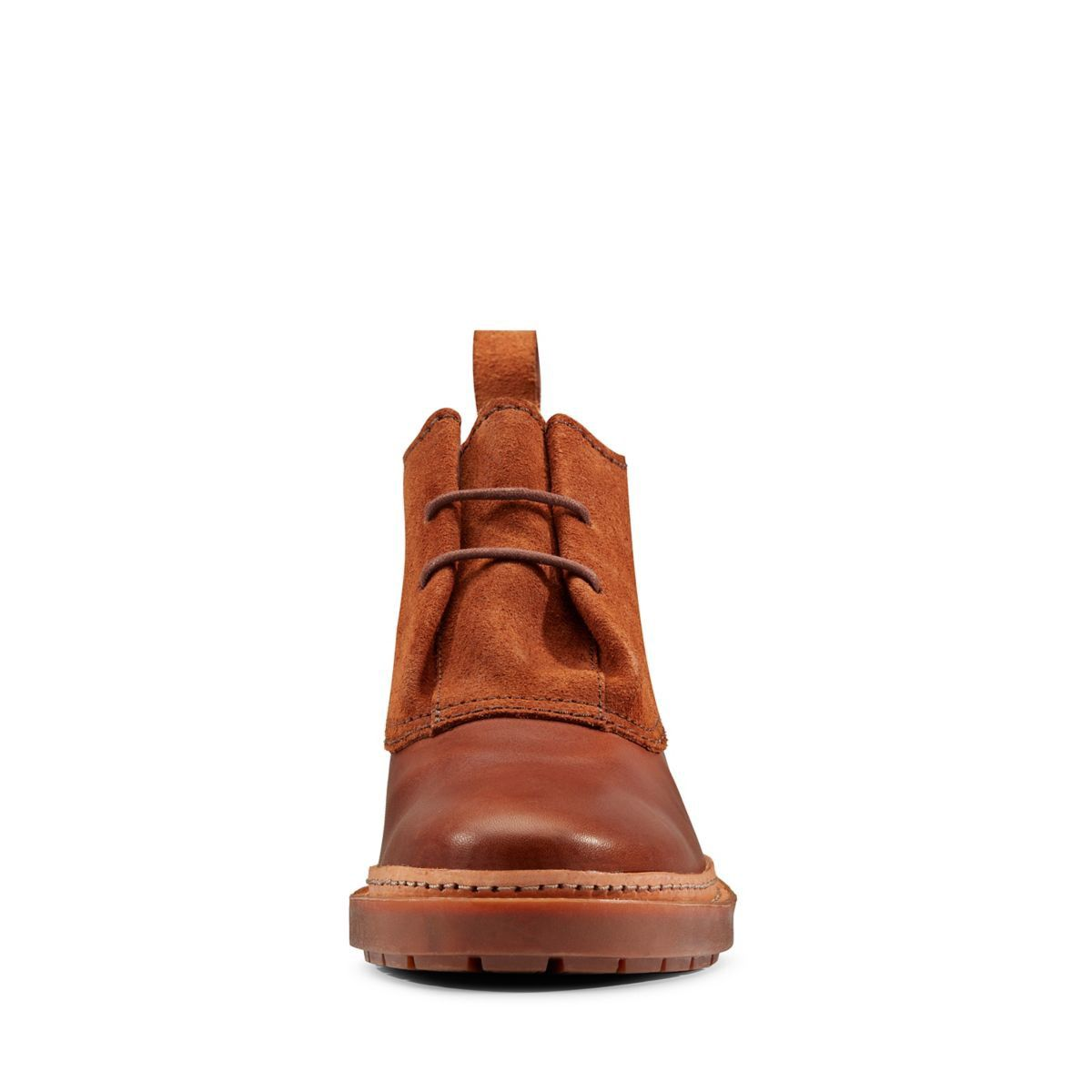 Clarks Trace Fawn - Womens Boots Dark Tan 6