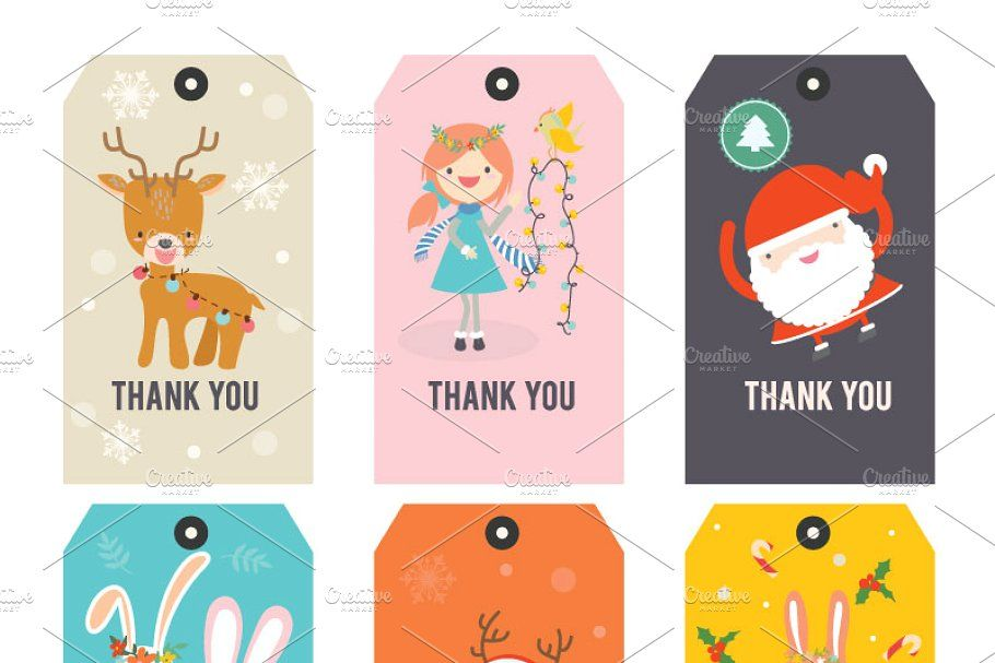 Photo of Thank you Printable tags KIDS , #Affiliate, #Fully#Vector#Editable#Text #affilia…