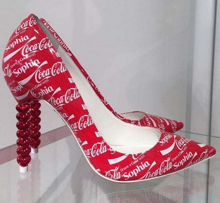 Sophia Webster's Share A Coke With Sophia Shoe At Printemps