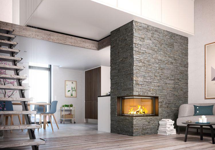 chemin e moderne centrale ou d angle pour r chauffer l int rieur r chauffer chemin e et angles. Black Bedroom Furniture Sets. Home Design Ideas