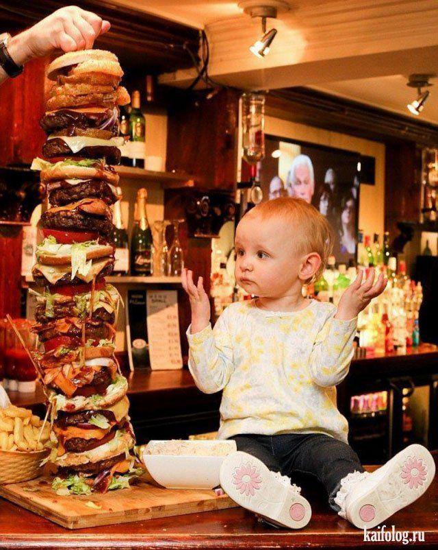 Смешные фото детей (50 фото) | Food humor, Food, Savoury food