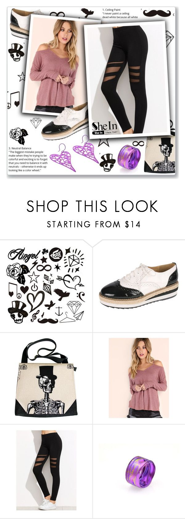 """""""Walk with friends"""" by giampourasjewel ❤ liked on Polyvore featuring shein"""