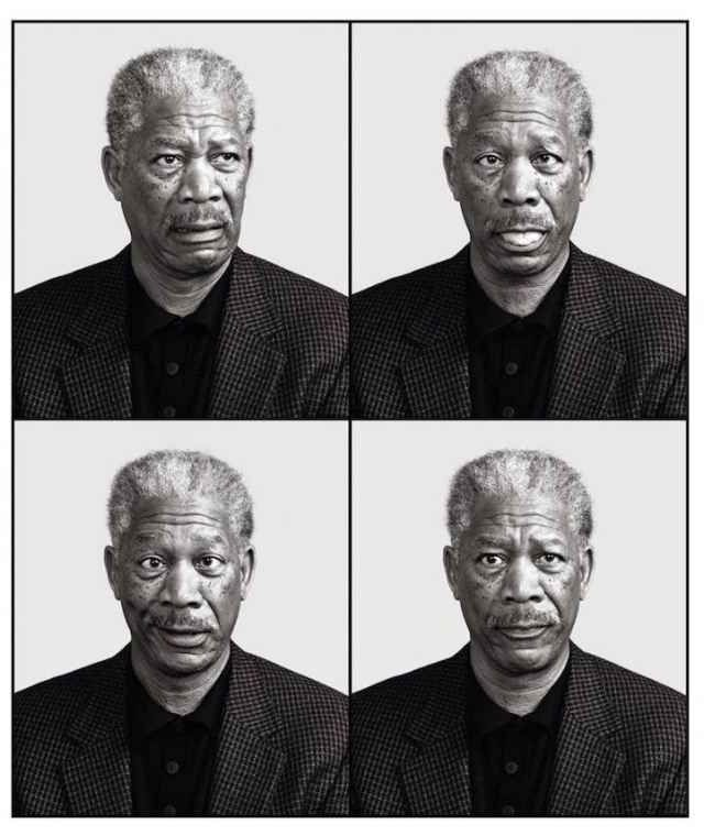 Playful Celebrity Portraits Reveal The Goofier Side Of The Famous - Playful celebrity portraits reveal goofier side famous